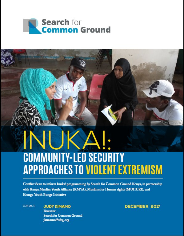 Community Led Security Approaches to Violent Extremism