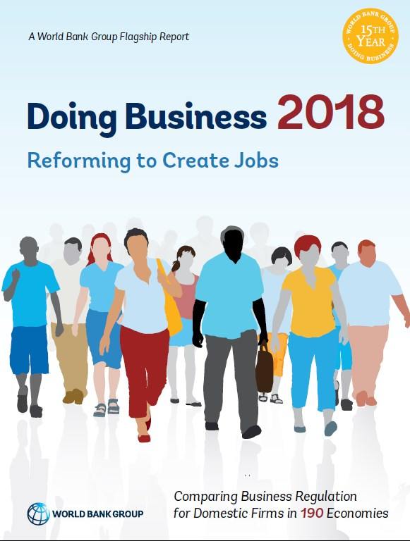 Reforming to Create Jobs   Doing Business 2018
