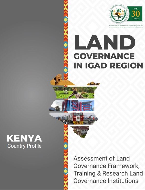 Land Governance in IGAD Region  Kenya Country Profile