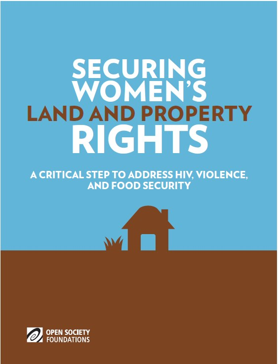 Securing Womens Land and Property Rights