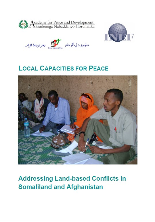 Addressing Land Based conflicts in Somalia and Afghanistan