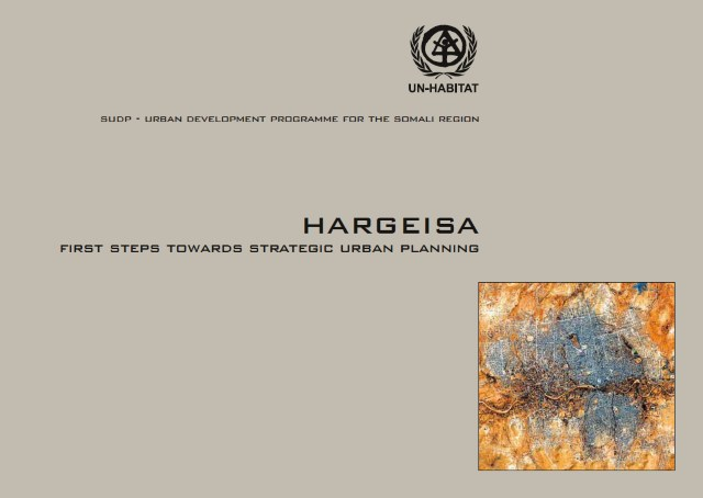 Hargeisa   First Steps towards strategic urban planning