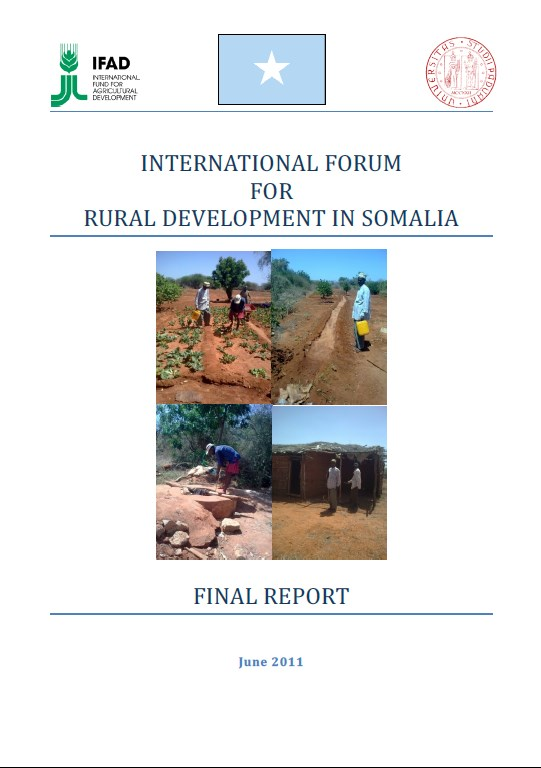 Report of the international forum for rural development in Somalia