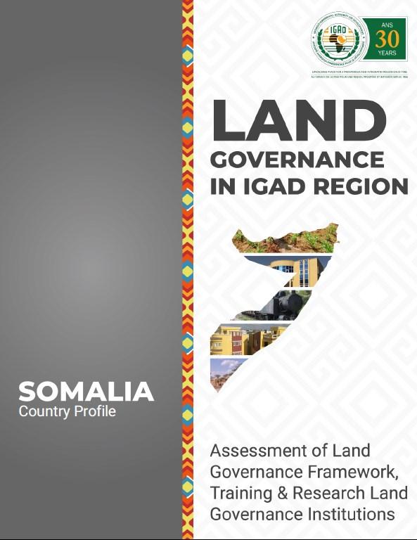 Land Governance in IGAD Region   Somalia Country Profile