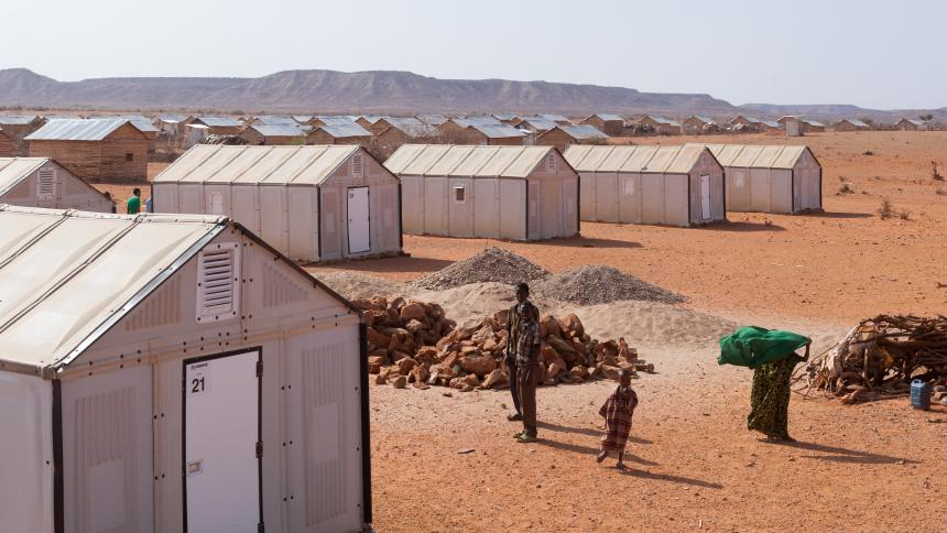 Choice in shelter solutions in Somalia