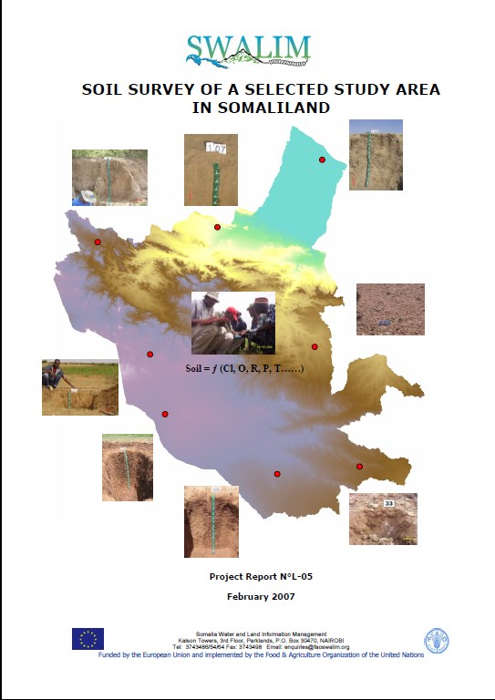 Soil survey of a selected study area in Somaliland