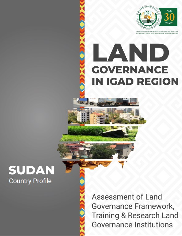 Land Governance in IGAD Region: Sudan Country Profile