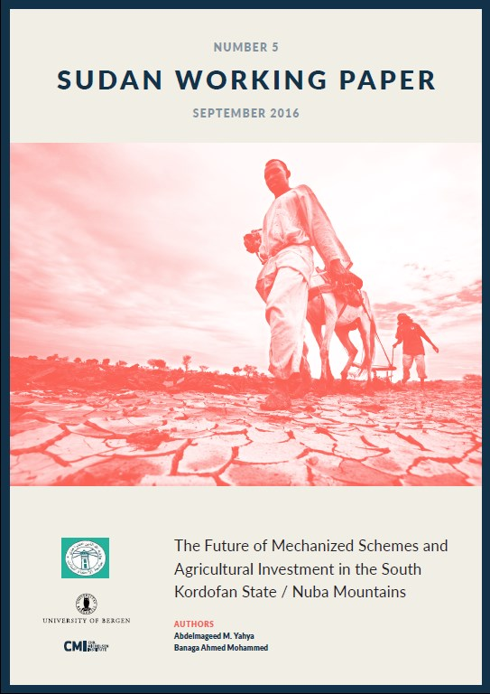 The future of mechanized schemes and agricultural investments in the South Kordofan States