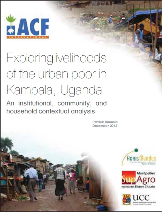 Exploring livelihoods of the urban poor in Kampala, Uganda
