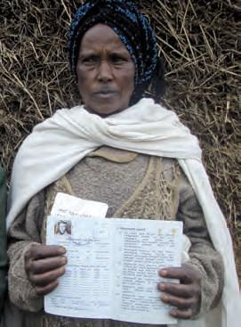 Ethiopian Women Gain Status through Landholding, 2010