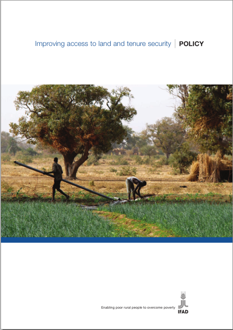 Improving access to land and tenure security