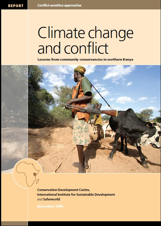 Climate change and conflict  Lessons from community conservancies in northern Kenya