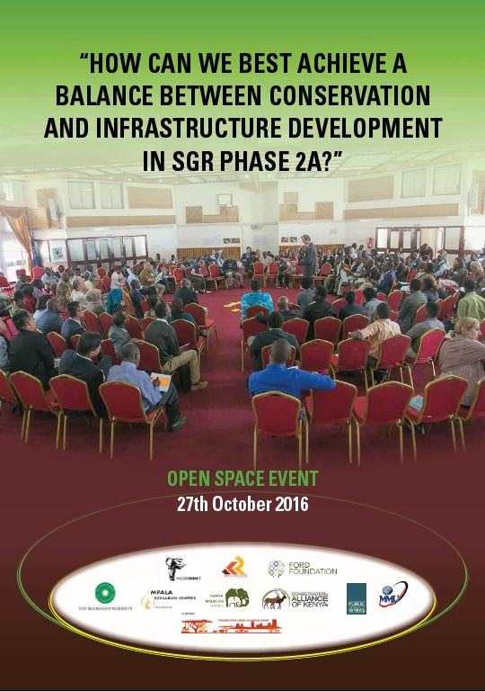 How Can We Best Achieve a Balance between Conservation and Infrastructure Development in SGR Phase 2a