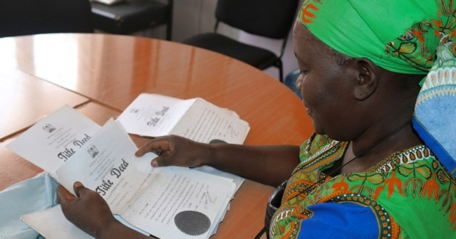 Gearing towards equal inheritance and property Rights for women in Kenya, 2016