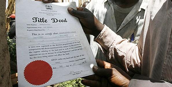 Land tenure and agrarian change in Kenya