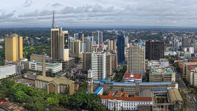Project Report on integrated urban development master plan for Nairobi city, Kenya
