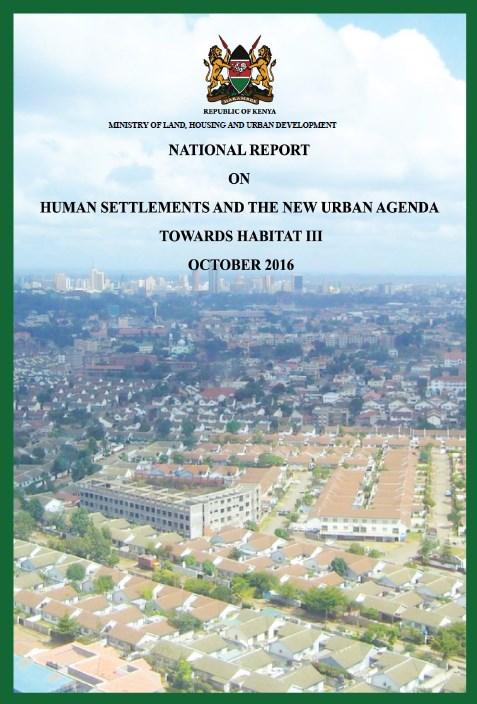 Kenya National Report on Habitat III