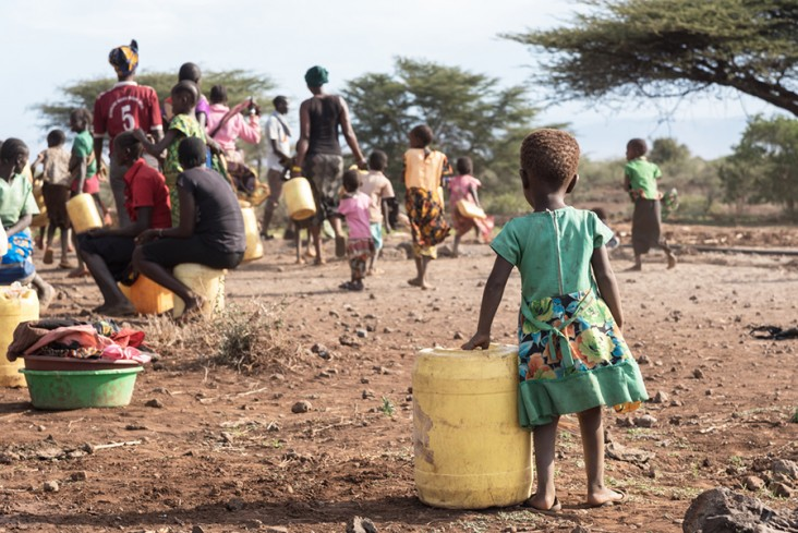 Actors and networks in resource conflict resolution under climate change in rural Kenya