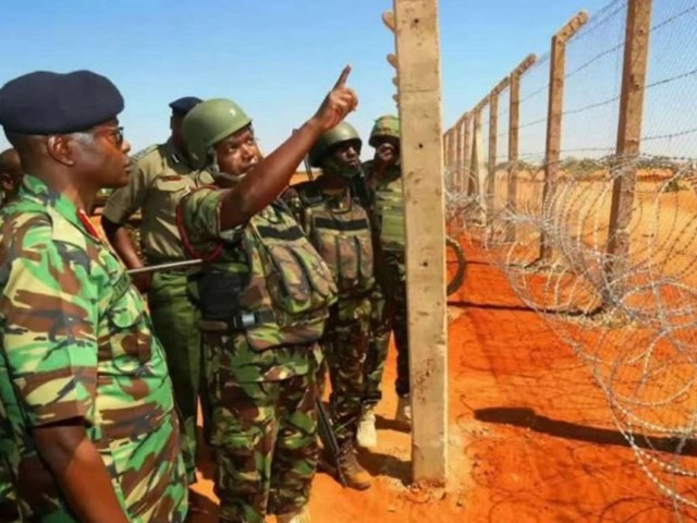 Conflict in time, petrified in space  Kenya Somalia border geopolitical conflicts