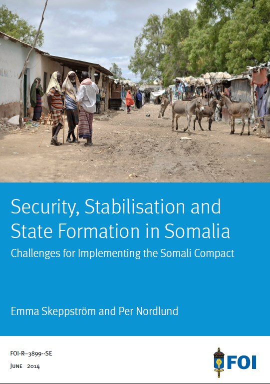 Security, Stabilization and State formation in Somalia