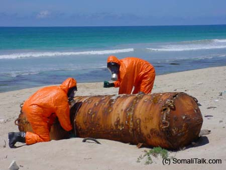 Environmental problems and toxic waste dumping in Somalia