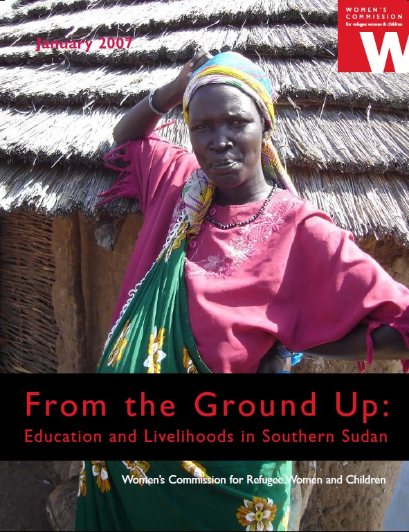 From the Ground Up   education and livelihoods in South Sudan
