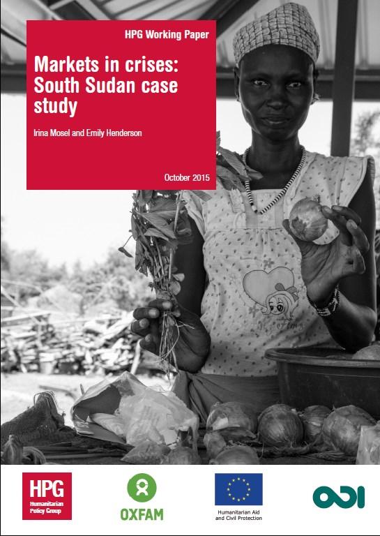 Markets in crises   South Sudan case study