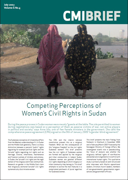Competing Perceptions of Women's Civil Rights in Sudan