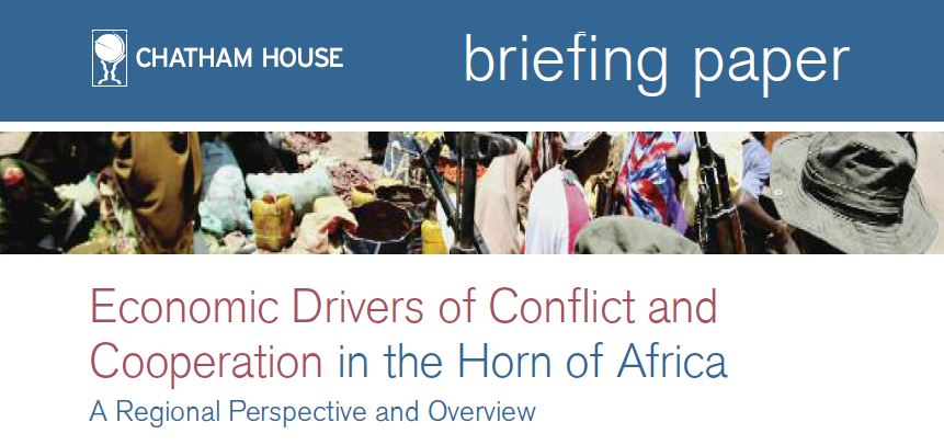 Economic Drivers of Conflict and Cooperation in the Horn of Africa