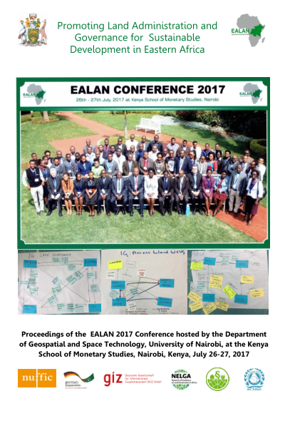 Promoting Land Administration and Governance for Sustainable Development in Eastern Africa