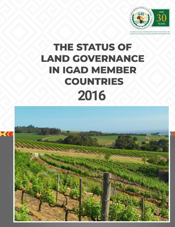 The Status of Land Governance in the IGAD Region